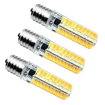 E17 LED bombilla, intensidad regulable 5 W 420 Lumens luz blanca ...