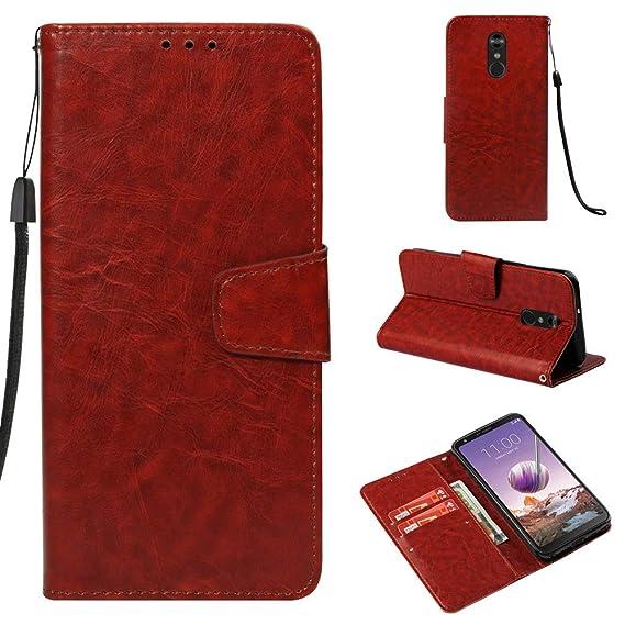 f52548733d37 Amazon.com: Voanice Luxury PU Leather Flip Folio Protective Wallet ...