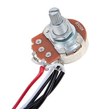 61U9uOMlPJL._SY355_ amazon com kmise electric guitar wiring harness prewired kit 3 EZ Wiring Harness Diagram Chevy at bayanpartner.co