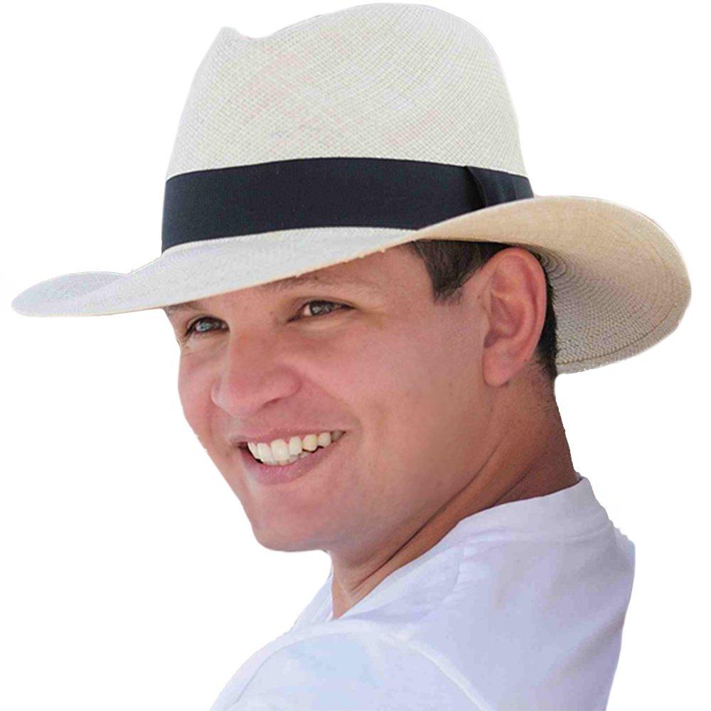 Gamboa Genuine Unisex Panama Hat Summer Straw Sun UPF50 Plantation Straw demarpa0004