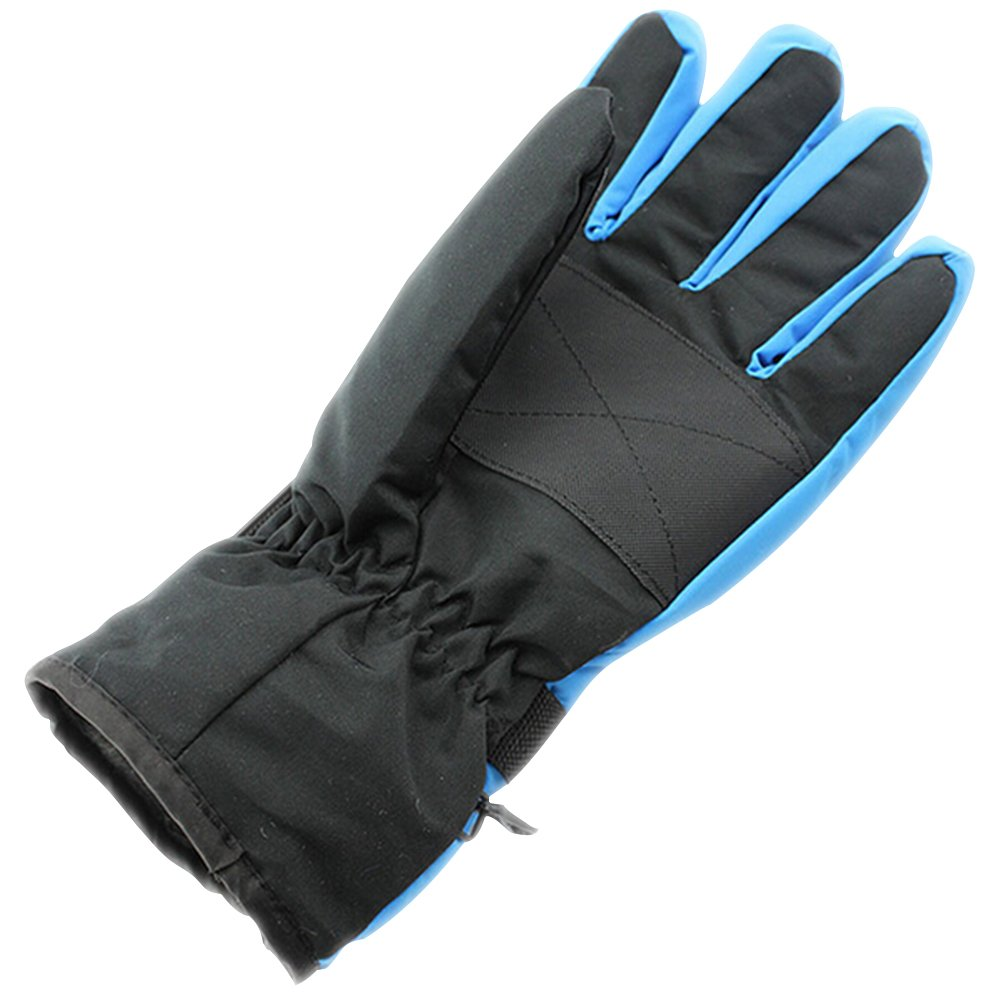 Natuworld Mens Outdoor Warm Ski Snowboard Cycling Motorcycle Anti-skid Waterproof Windproof Thick Thermal Winter Gloves Mittens