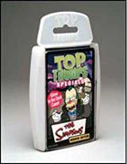 Pack Top 4 2 And Volume Simpsons Game 1 Trumps 3 Card MVSUzp