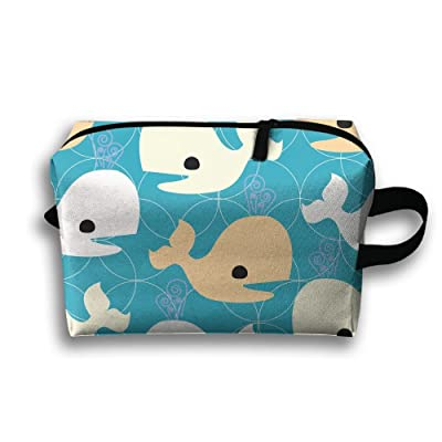 SO27Tracvel Cartoon Shark Sea Toiletry Bag Dopp Kit Tactical Bag Accessories Travel Case