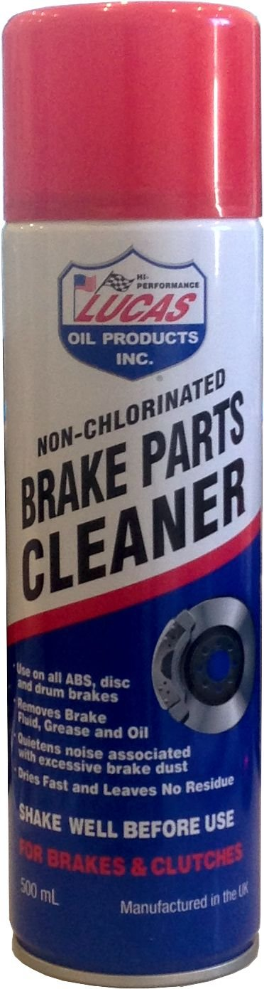LUCAS NON CHLORINATED BRAKE PARTS CLEANER 500ML