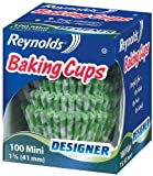 reynolds tray - Reynolds Baking Cups, Designer Mini, 100-Count (Pack of 24)