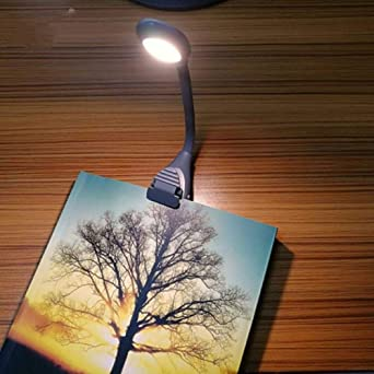 LED USB recargable Luces de libro 3 temperaturas de color Plegable ...