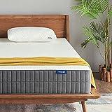 #1: Queen Mattress, Sweetnight 10 Inch Gel Memory Foam Mattress in a Box, Sleeps Cooler, Supportive & Pressure Relief for a Deeper Restful Sleep with CertiPUR-US Certified Foam, Queen Size
