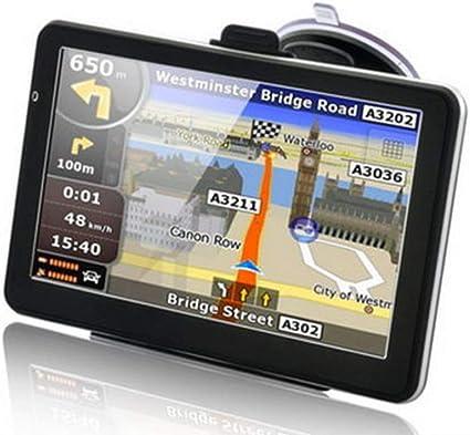 Alician 7inch 256MB+8GB HD Coche Camión GPS Navegación Coche Navegador GPS Auto Elementos: Amazon.es: Coche y moto