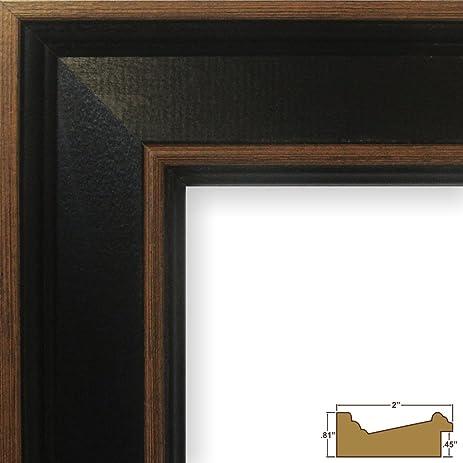 Amazon.com - Craig Frames Country Estate, Black Hardwood Picture ...