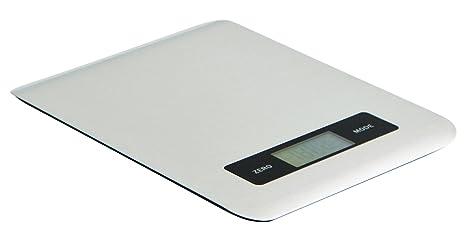 Quid Bascula Digital INOX 22X17X1 Prepara, Gris, 2.01 cm