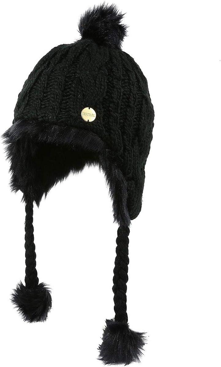 Regatta Womens Floy Chullo Chunky Knit Winter Walking Hat