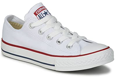 228570ab5145 Converse Chuck Taylor All Star Unisex-Adult Ox Trainers (4 UK, Optical White