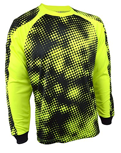 Vizari Polaris Gk Jersey Size Yellow/Black, axl