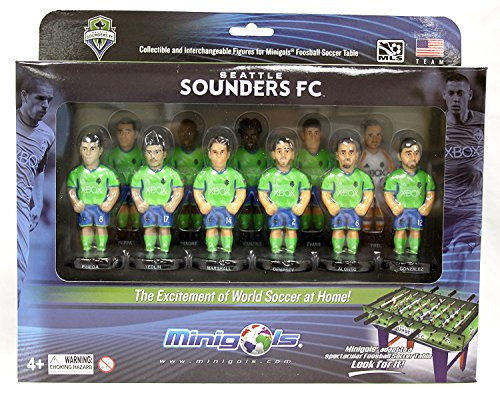 Minigols Seattle Sounders (11 Pack)