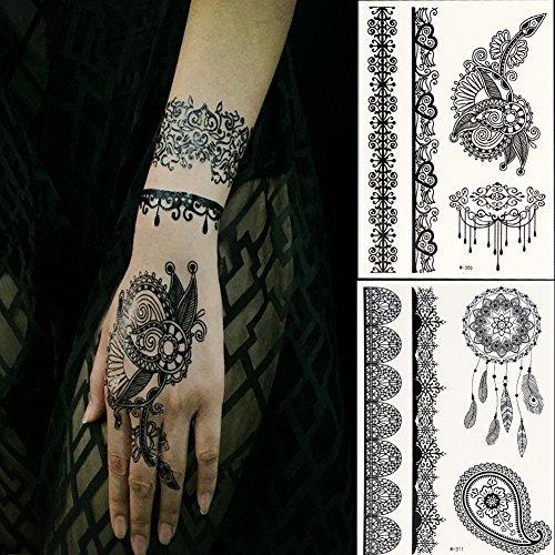 Henna Tattoo Hand Amazon: Henna Tattoo: Amazon.com