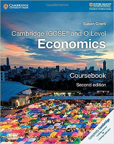 Cambridge IGCSE and O Level Economics Coursebook (Cambridge International IGCSE) 9781108440387 <span at amazon
