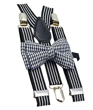 Verily - Corbata de Lazo Estampada a Rayas para Hombre y Mujer ...