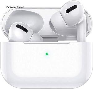 Bluetooth 5.0 Earphones,Wireless Earphones,in-Ear Stereo Sound Earphones, IPX5 Waterproof Earphones with Built-in Microphone, Suitable for Airpods/Airpods pro/iPhone/Android/Samsung