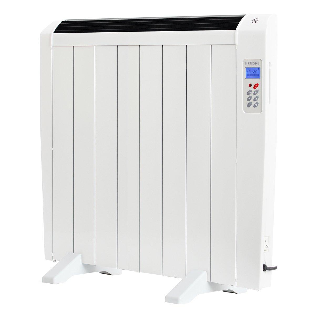 LODEL RA8 - Emisor térmico digital seco programación diario, 1200 W: Amazon.es: Hogar