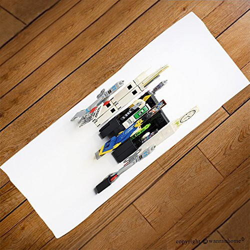 Pendelton Mini (VROSELV Custom Towel Soft and Comfortable Beach Towel-hong kong feb office boy and robot mini characters from different genation w Design Hand Towel Bath Towels For Home Outdoor Travel Use 27.6
