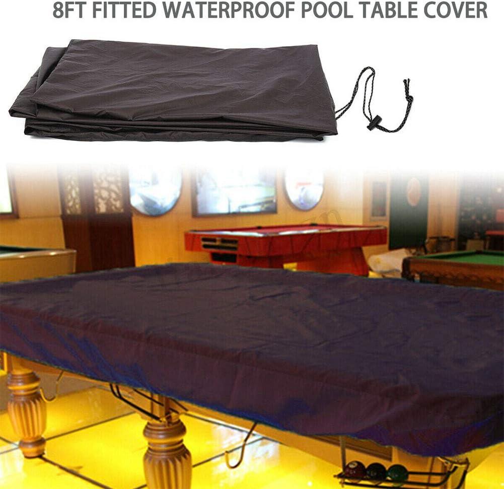ROKF - Funda de mesa de billar de 8 m, impermeable, exterior y ...
