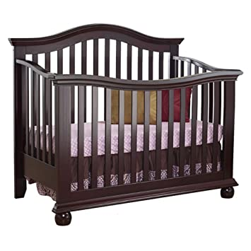 sorelle vista couture 4in1 convertible crib espresso