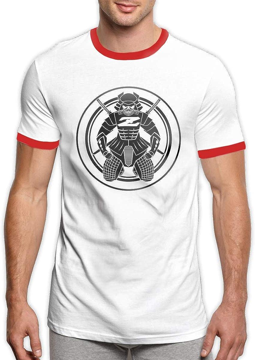 ZaHome Mens Alfa Romeo Giulietta Sportstyle Ringer Short Sleeve T-Shirt Printed Athletic Shirt