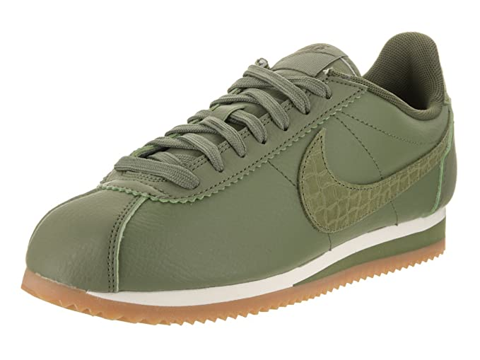 cheap for discount a9d22 ddbe5 Image Unavailable. Image not available for. Color  NIKE Women s Classic  Cortez Leather Lux ...