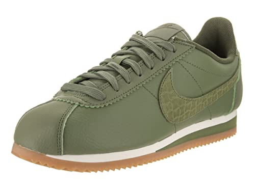 a057c14d07 ... italy nike womens classic cortez leather lux palm green palm green sail  casual shoe 6.5 women