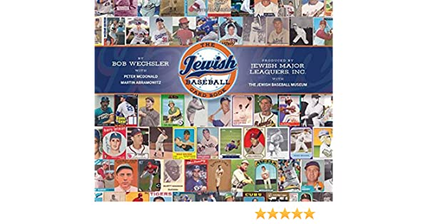 Image result for the jewish baseball card book