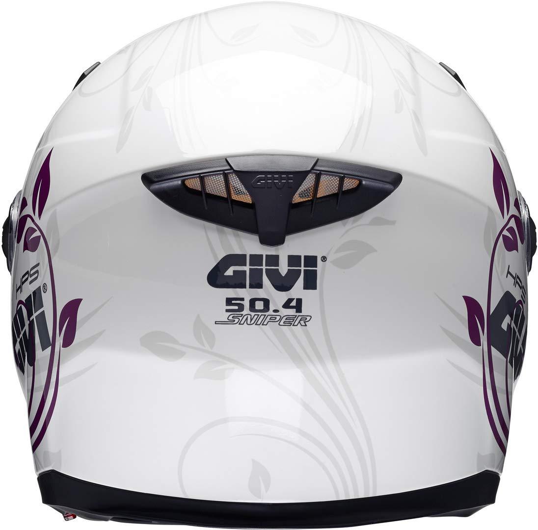 GIVI HPS 50.4B Casco Integrale con parasole bianco