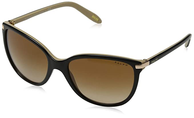 Ralph Lauren RALPH BY Ra5160 Gafas de sol, Black/Nude, 57 ...