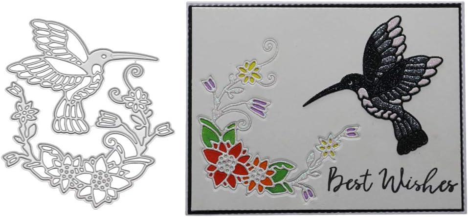 Scrapbooking Metall Hochzeit Silber Einladungskarten zum Basteln Stanzformen f/ür Kartenherstellung Schablone Brautpaar