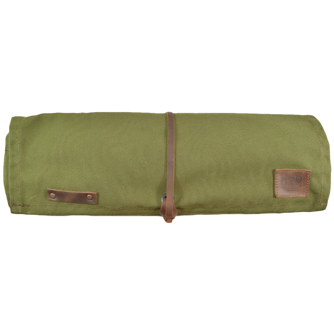 Hide & Drink Water Resistant Canvas All Purpose Knife Roll (10 Pockets) Handmade by Hide & Drink (Image #3)