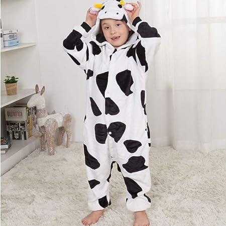 SDFGXCVW Pijama Animal Niña Unisexo Cosplay Traje Disfraz ...