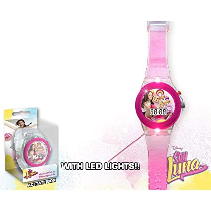 Image Unavailable. Image not available for. Color: Soy Luna Digital Watch with Led Disney Reloj Original