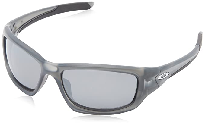 oakley sunglasses valve polarized  oakley valve polarized iridium rectangular sunglasses,matte grey smoke,60 mm
