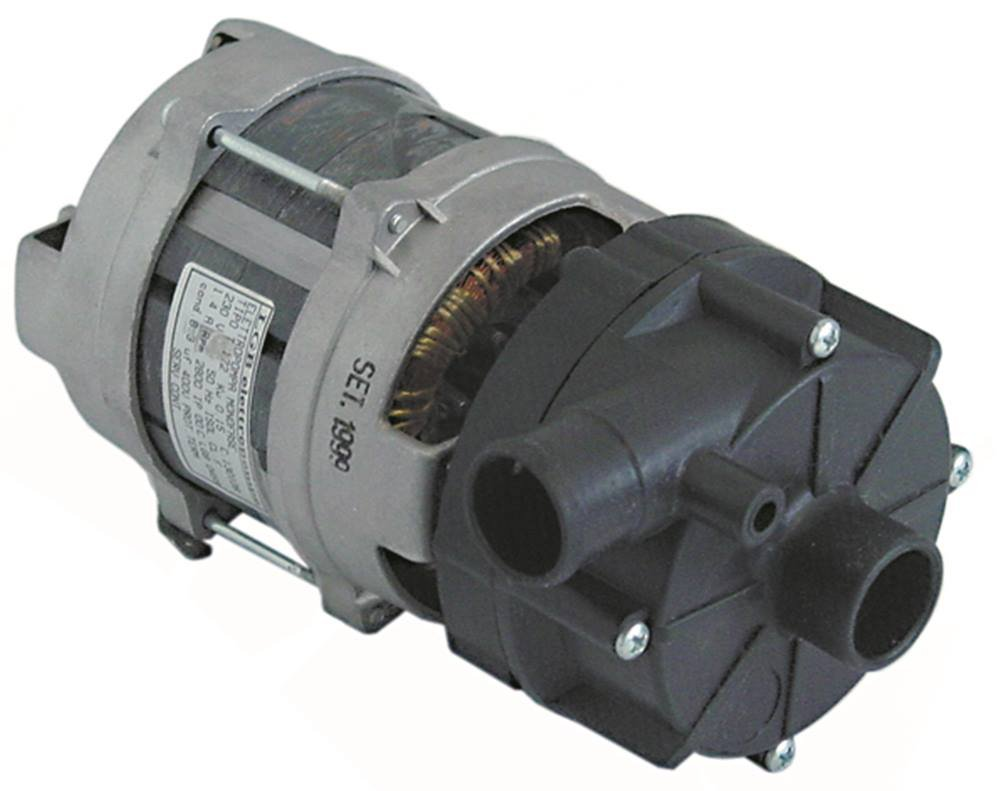 LGB ZF130DX Pumpe f/ür Sp/ülmaschine Colged 40 40FD 40 Ausgang 26mm Eingang 28mm 50Hz 400RD 400FD 400F Elettrobar 40F 400R