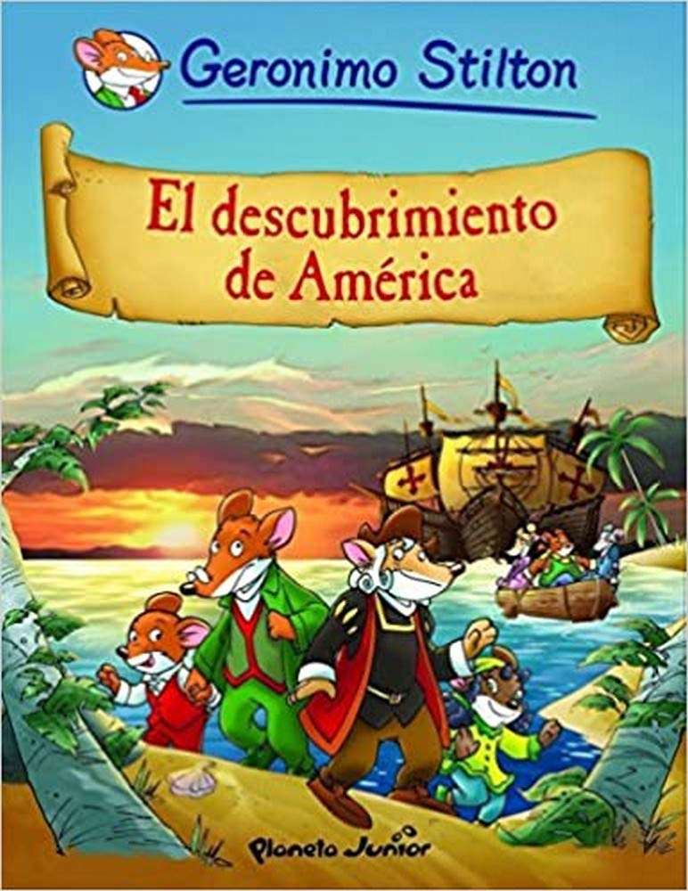 El descubrimiento de América: Cómic Geronimo Stilton 1: Amazon.es: Stilton, Geronimo: Libros