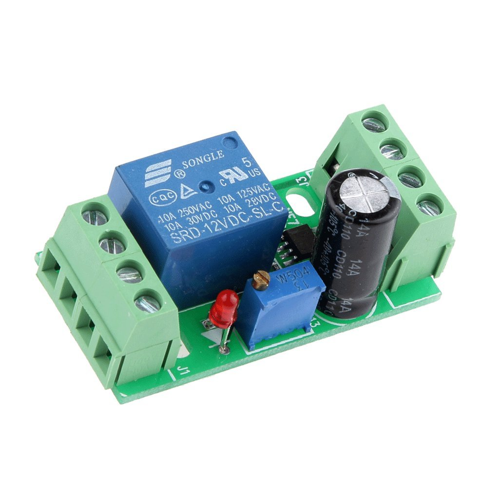 Magideal Dc 12v Delay Relay Shield Ne555 Timer Switch Toggle Circuit Using A 555 Adjustable Module 0 10 Second Automotive