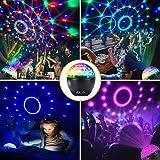 Bluetooth Disco Light,CrazyFire Party Light with