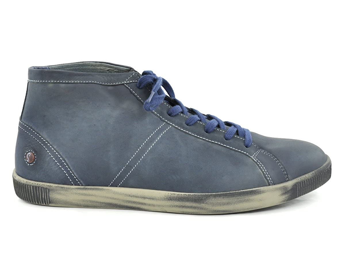 Softinos Herrenboot TEM Washed Navy Navy Washed Navy daebb9