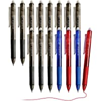 Lineon 15-Pack Retractable Erasable Pens Clicker