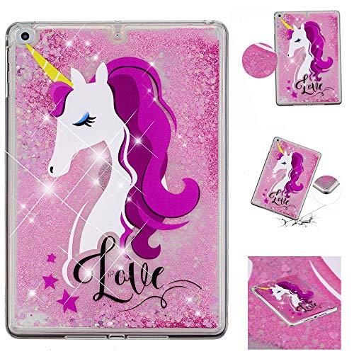 Glitter Sparkle Quicksand Scratch iPad Unicorn