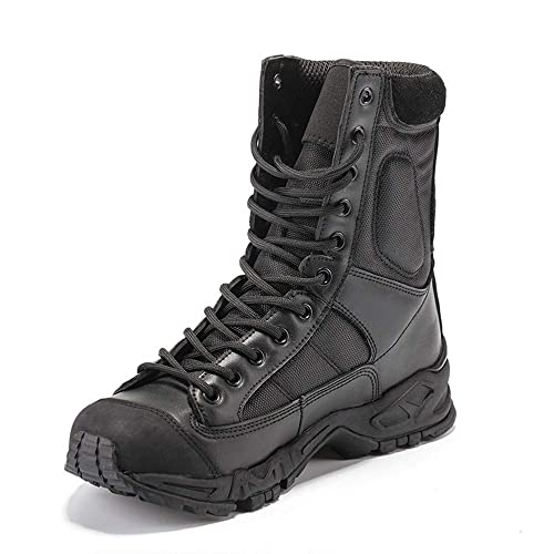 IDNG Zapatillas Baloncesto Hombres, Zapatos De Trabajo De Combate ...