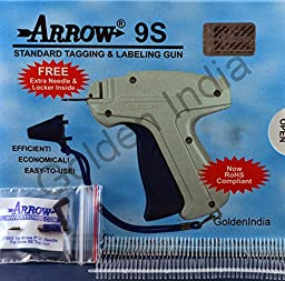Arrow Standard 9S Tag Gun +1 Extra Needle + 2000 ( Size 75mm ) ( 3\