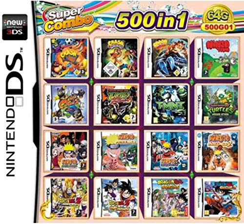 De Xl Para Juego 500 2ds Nds Juegos Combo 3ds Cartas En 1 Super Ds Cartucho wqRBF1RA
