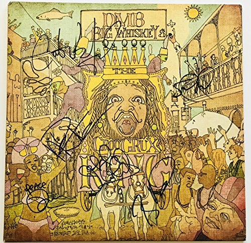 Dave Matthews band signed album lp carter stefan boyd tim reynolds psa dna loa