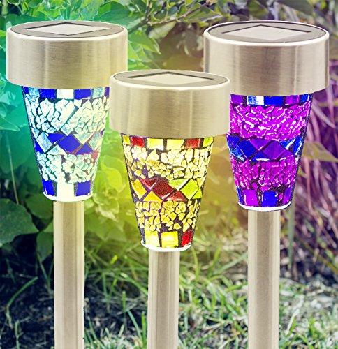 Glass Solar Lamp Shade - 1