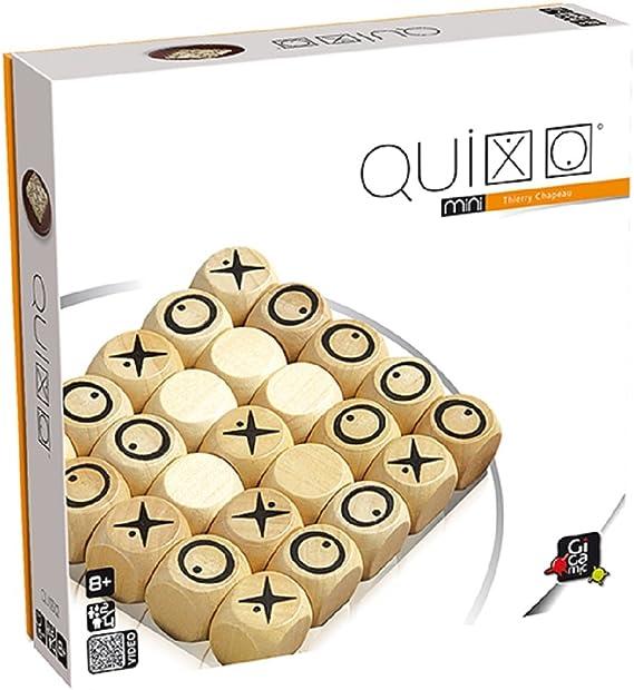 GIGAMIC QXM Quixo Mini - Juego de Mesa de Estrategia: Amazon.es ...